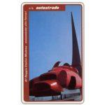 The Phonecard Shop: Italy, A1 Reggio Emilia-Modena, monumento alla Ferrari, L.50,000, Technicard (Viacard)
