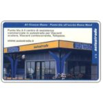 The Phonecard Shop: Italy, A1 Firenze-Roma, Punto Blu, L.50,000, Pikappa (Viacard)