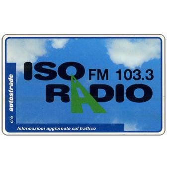 The Phonecard Shop: Italy, Isoradio, Informazioni aggiornate sul traffico, L.50,000, Pikappa (Viacard)