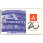 The Phonecard Shop: Italy, Autogrill ventennale, L.50,000, Publicenter (Viacard)