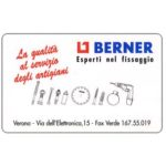 The Phonecard Shop: Italy, Berner, L.50,000, Publicenter (Viacard)