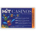 The Phonecard Shop: Italy, Hit Casinos, L.50,000, Publicenter (Viacard)