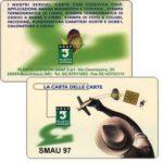 The Phonecard Shop: Italy, Graf 3 SMAU 97 promo card