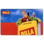 The Phonecard Shop: Italy, Billa (loyalty card)