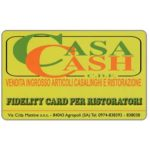 The Phonecard Shop: Italy, Casa Cash (fidelity card)