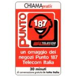 The Phonecard Shop: Italy, Punto 187 Telecom, 30 min.