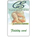The Phonecard Shop: Italy, CS Parrucchiere (fidelity card)