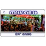 The Phonecard Shop: Italy, Fitness Gym 86 (event card)