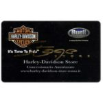 The Phonecard Shop: Italy, Harley-Davidson Store (promo card)