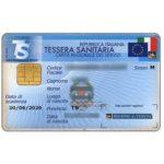 The Phonecard Shop: Italy, Tessera Sanitaria (medical card)