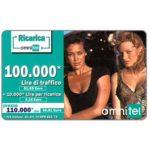 The Phonecard Shop: Italy, Omnitel – Megan Gale & Tatiana Zavialova, 100.000 Lire