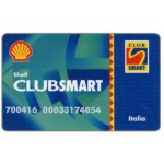 The Phonecard Shop: Italy, Shell Club Smart (fuel loyalty card)