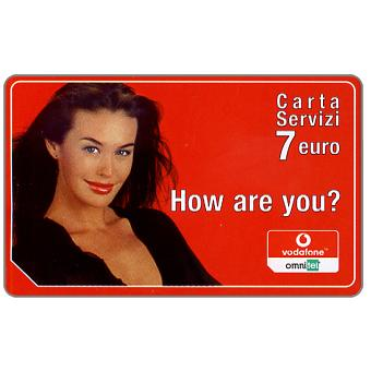 The Phonecard Shop: Italy, Omnitel Vodafone – Stracarichi, 10 euro