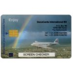 The Phonecard Shop: Netherlands, DocuCards screen checker (sample card)