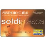 The Phonecard Shop: Italy, San Paolo Card Soldintasca (debit card)