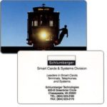 The Phonecard Shop: U.S.A., Schlumberger Smart Cards & Systems Division promo card